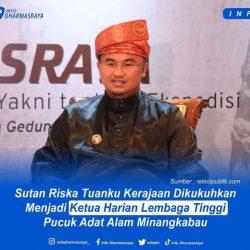 Bupati Sutan Riska Diamanahkan jadi Ketua Harian Lembaga Tinggi Adat Alam Minangkabau