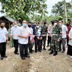 Bupati Suhatri Bur Puas, TMMD Bebaskan Nagari Salibutan dari Isolasi