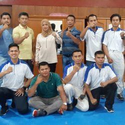 Ketua Wushu Sumbar Resmi Tutup Pelatihan Wasit, Juri dan Pelatih