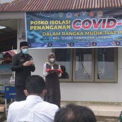 Dilaunching Wako Fadly Amran, Ada Kelurahan di Padang Panjang Punya Posko Isolasi