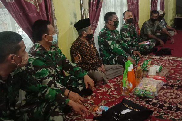 Kababin Minvetcadam 1/BB Kembali Salurkan Bantuan Tali Asih untuk Veteran di Pessel