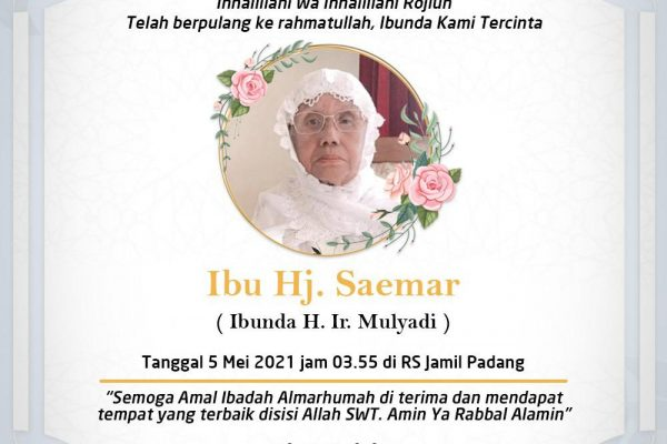 Innalillahi Wainnaillaihi Rojiun, Tokoh Nasional Kirim Karangan Bunga Berpulangnya Ibunda Mulyadi