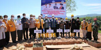 UNP Mulai Bangun Kampus PSDKU di Kota Sawahlunto