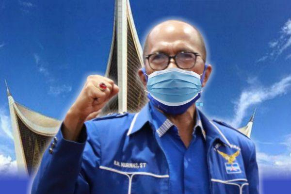 HM Nurnas: Gubernur itu Jenderal Perang Lawan Covid-19, Mahyeldi Jangan Lari..!!