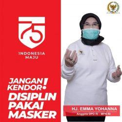 Serbuan 1.000 Paket Sembako, Senator Emma Yohana: Aksi JPS Harus Dibumikan, Kita Masih Pandemi!!!