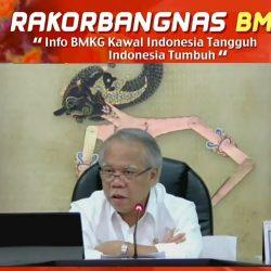 Menteri Basuki Tegaskan Pentingnya Data BMKG dalam Pembangunan Infrastruktur