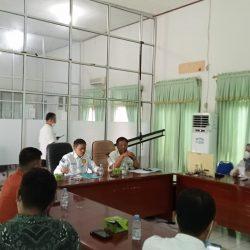 Ketua DPRD Pasaman Barat Study Perda Restribusi Tera ke Dinas Koperasi Kampar