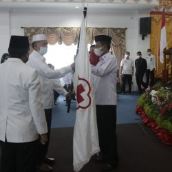 Aristo Lantik Risnawanto Sebagai Ketua PMI Pasbar