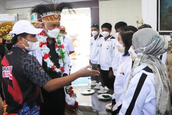 Gubernur Mahyeldi Apresiasi Perjuangan Atlet Sumbar di PON XX Papua