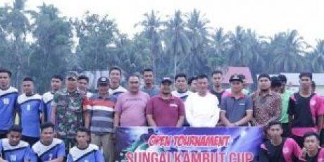 Open Turnamen Sungai Kambut Cup Diikuti 32 Klub