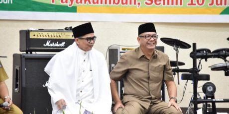 H. Boy Dt. Palindih Doakan Riza Falepi Jadi Gubernur Sumbar