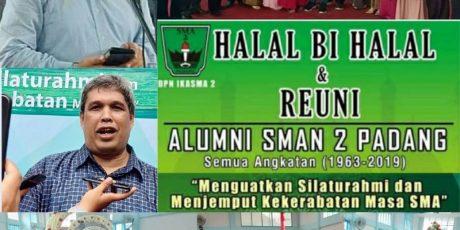 Alumni SMA 2 Padang Sebut Fakhrizal Cagub Sumbar