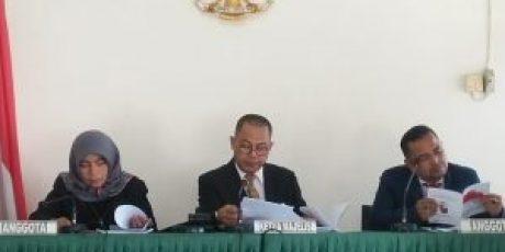 Atasan PPID Dharmasraya Hadirkan Saksi Ahli dari LKPP