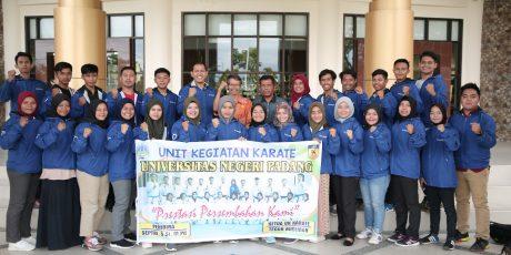 30 Karateka UNP Ikuti Kejuaraan Karate Antar Mahasiswa Se-Sumatera
