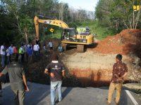 Kementerian PUPR Lakukan Tanggap Darurat Pascabencana Banjir dan Longsor di Bengkulu