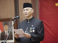 Irjen Widiarto Irup Peringatan Hari Kelahiran Pancasila.di Kementerian PUPR