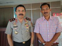 Direktur Iven Tenis Piala Kapolda Sumbar Ke-3 Koordinasi dengan Jenderal Fakhrizal