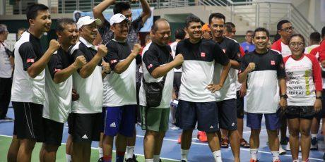 Prestasi Tim Tenis IKA Universitas Brawijaya Membaik