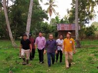 M. Rahmad Undang Wagub Nasrul Abit Tanam Jagung Perdana di Limapuluh Kota
