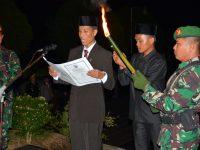 Ketua Pengadilan Agama Sijunjung Pimpin Renungan Suci