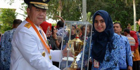 Puskesmas Tanjung Gadang Sijunjung Raih Penghargaan Pelayanan Prima Tingkat Sumbar
