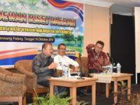 Bupati Ali Mukhni Presentasikan Kawasan Pendidikan Tarok City di Workshop Berwawasan Lingkungan