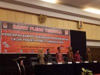 KPU Sumbar Tetapkan Sampel Dukungan Calon DPD RI