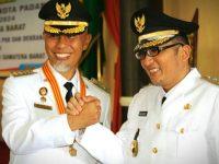 Mahyeldi-Hendri Septa  Resmi Jabat Wako-Wawako Padang 2019-2024